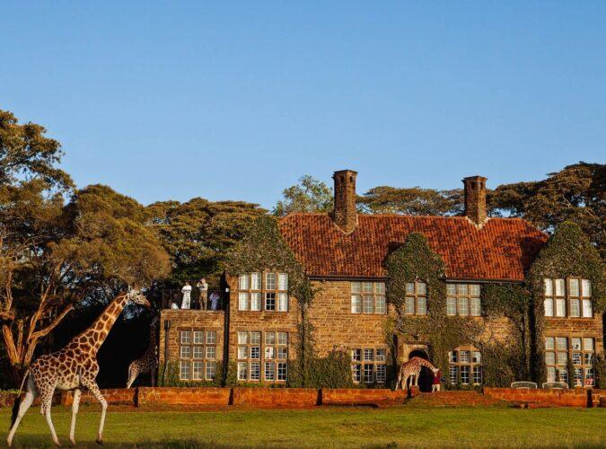 Giraffe Manor instyle safaris